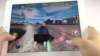 Asphalt 7 games apple iOS test new iPad by HDblog