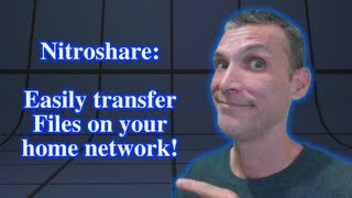 Nitroshare: Easily transfer files on your home network!