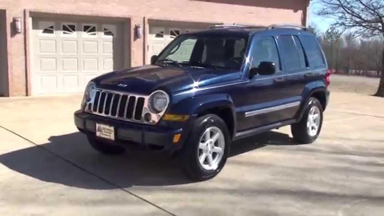 Hd Video 2006 Jeep Liberty Limited 4x4 Used For Sale See