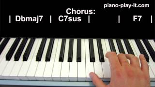 Happy Piano Tutorial Pharrell Williams (Piano Cover)