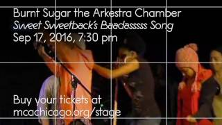 Burnt Sugar the Arkestra Chamber: Sweet Sweetback's Baadasssss Song