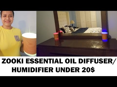 essential-oil-diffuser|humidifier|zooki|under-20$|200ml-ultrasonic-aromatherapy-diffuser-humidifier
