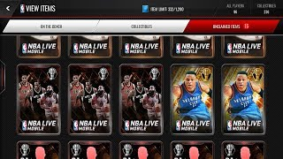 Huge NBA Awards Variety Pack Opening! New Guaranteed Elite Pull tactic? NBA Live Mobile