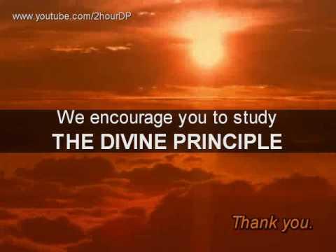 DIVINE PRINCIPLE - 0 - Introduction