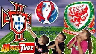 Predicción PORTUGAL vs GALES semifinales EUROCOPA 2016 Adrenalyn XL