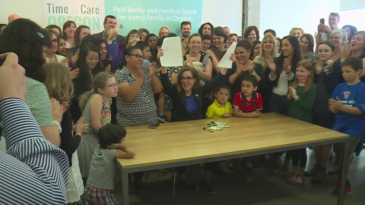 Oregon governor signs off on paid family and medical leave bill