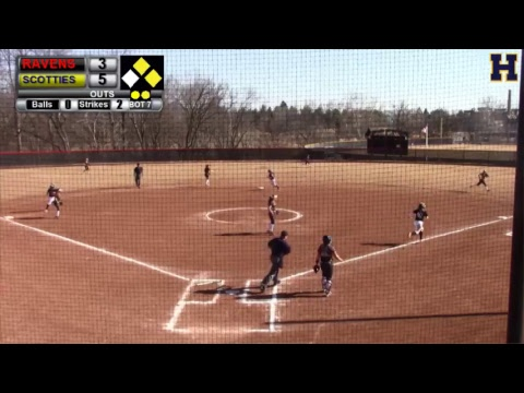 Highland Community College Softball vs. Benedictine College | Game 1
