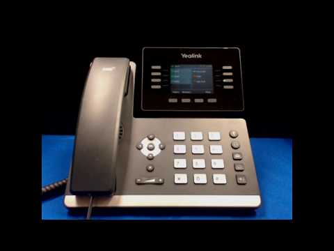 Yealink SIP-T52S Media IP Phone User Training