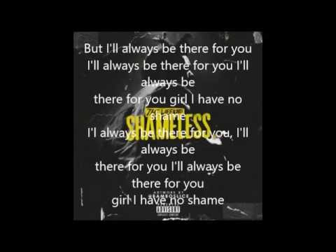 The Weeknd Shameless with lyrics on screen
