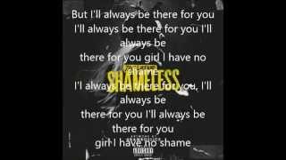 The Weeknd Shameless with lyrics on screen