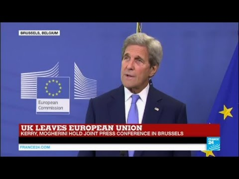 "US Secretary of State John Kerry on Brexit: ""the US will maintain its special relationship with GB"""