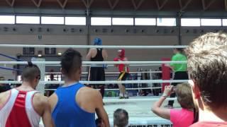 Martini Gianni Finale campionato Italiano light boxe 81kg Cat. Master 2016 Rimini