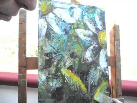 dipingere le margherite arte moderna youtube