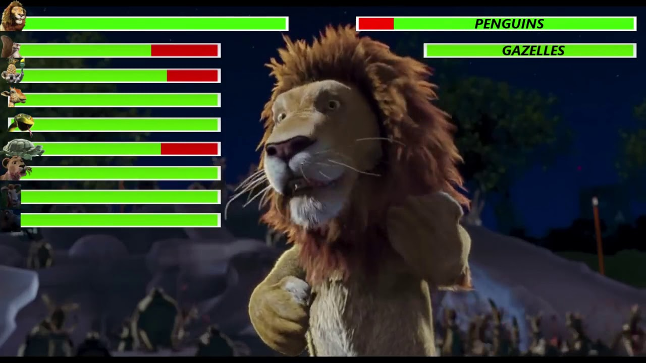 Download The Wild (2006) Penguin Hockey Game with healthbars (Edited By @With Healthbars)