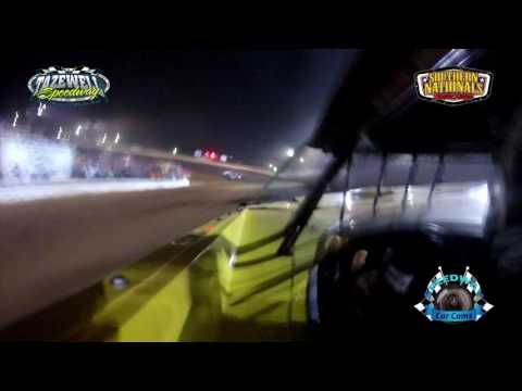 #56 Joey Standridge - Super Late Model - 7-2-17 Tazewell Speedway - In-Car Camera
