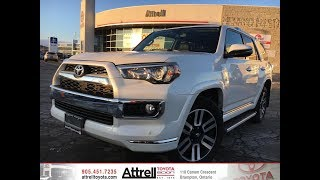 2018 Toyota 4Runner Limited 7-Passenger Review Brampton ON - Attrell Toyota