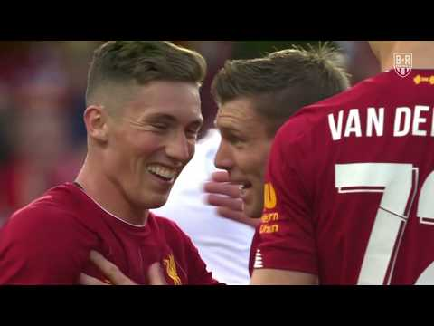 Liverpool vs. Lyon: 28 July 2019: Pre-Season Friendly Highlights and Goals