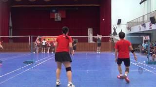 2017/05/20 金大偉及東港羽球開幕戰
