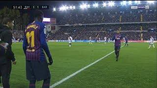 Ousmane Dembélé vs Rayo Vallecano (A) 2018/19 - English Commentary HD 720p