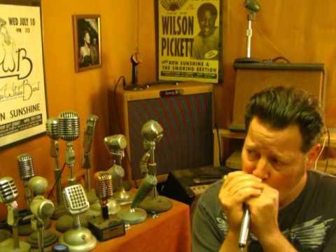 Voice Of Music (Sonotone DM-10) 1960s Tape Recorder Mic Vocals Harmonica