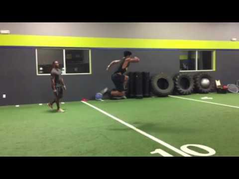 1UP Sports Coach Johnathan Gray/ Ibri Leal