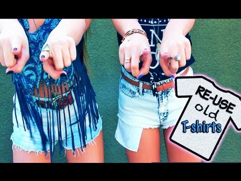 Ways to Upcycle Old T-Shirts! - AndreasChoice