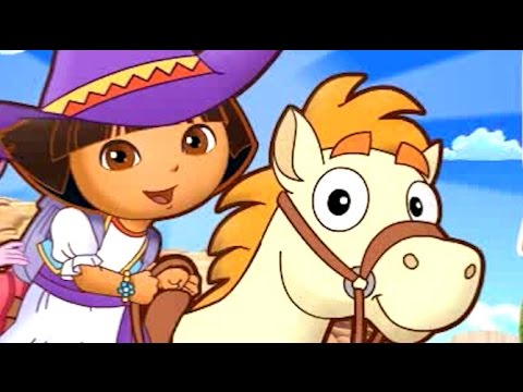 Dora Pony Adventure Game Dora The Explorer Game For Kids