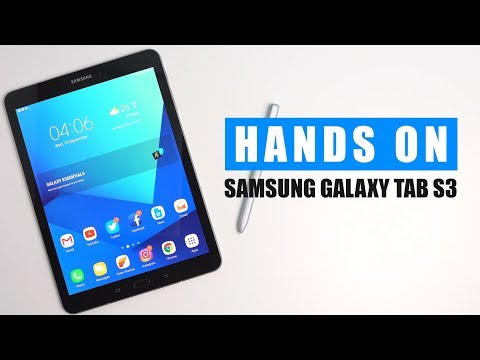 Unboxing & Hands On Samsung Galaxy Tab S3 : Best Android Tablet 2017?