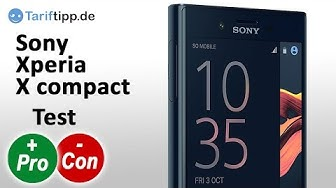Sony Xperia X compact | Test deutsch