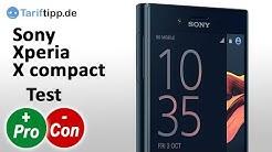 Sony Xperia X compact   Test deutsch