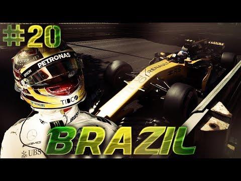 F1 2016 - Отличная гонка и тактическая борьба с Хемильтоном - Формула 1 Сезон 2 Карьера #20
