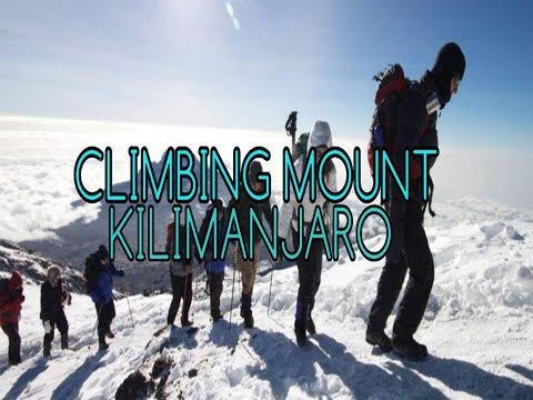 CLIMBING MOUNT KILIMANJARO Tanzania|trekking|world climbing