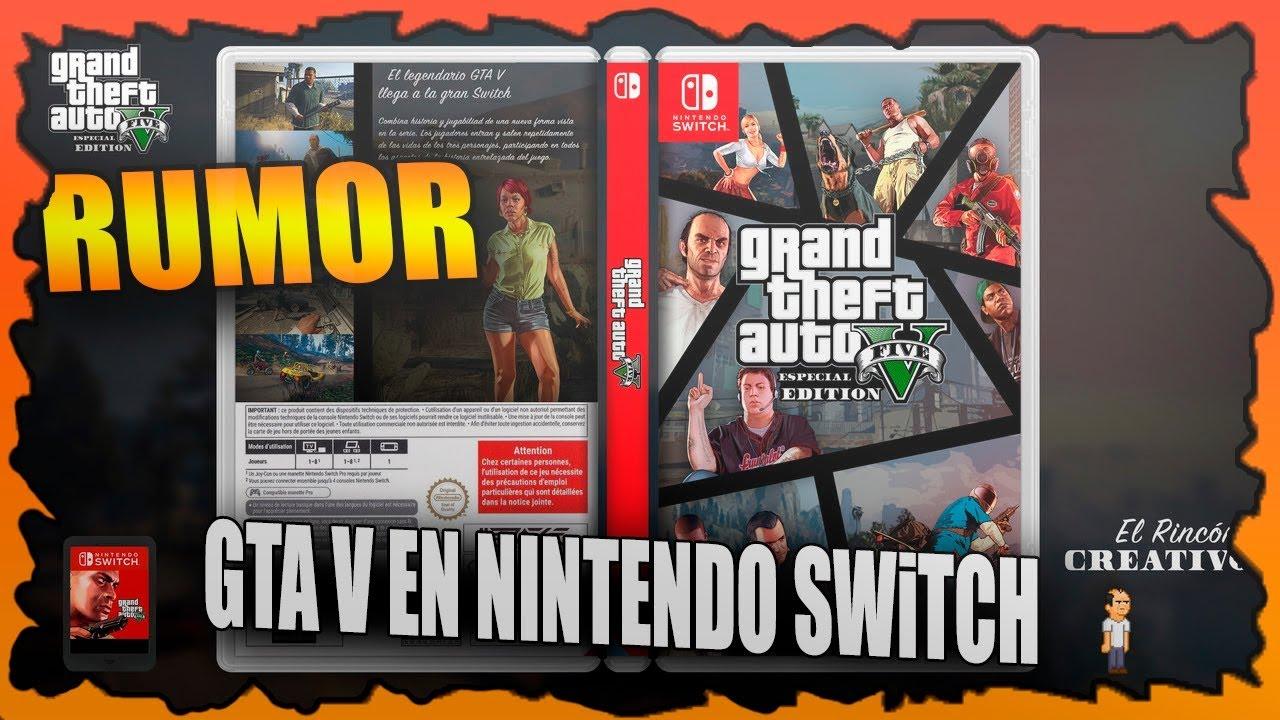 Gta V En Nintendo Switch Podria Llegar Mas Pronto De Lo Que Creemos