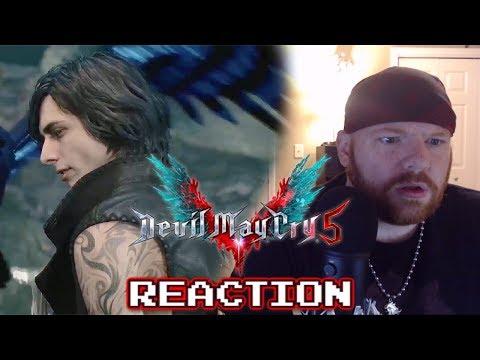 Krimson KB Reacts: V Trailer - Devil May Cry 5