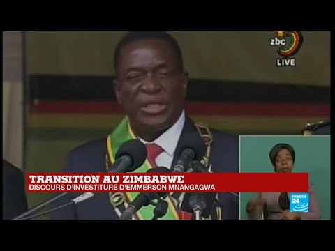 REPLAY - Discours d'investiture d'Emmerson Mnangagwa