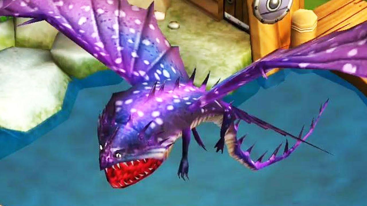 Dragons: Rise of Berk - Thunderdrum Dragon - YouTube