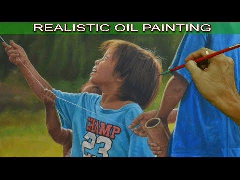 Painting Realism by JM Lisondra