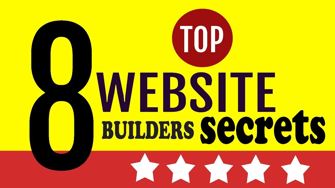 Websites builders - Top secrets websites builders are using for growth in 2020