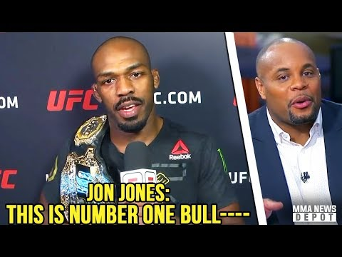 Jon Jones reacts to being #2 P4P behind DC's #1; Cormier will face Stipe if Brock bout drops; Usman