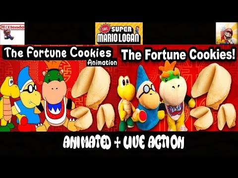 SML Movie: The Fortune Cookies! Animated + Live Action