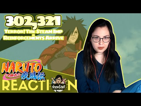 Naruto Shippuden 302,321. Terror! The Steam Imp \ Reinforcements Arrive | Reaction