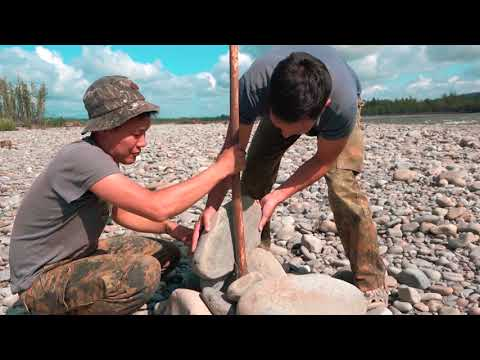 Рыбалка на горной речке Тукулан