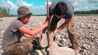видео: Рыбалка на горной речке Тукулан