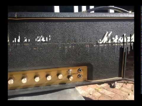 Marshall 100w SLP 92' Mark Cameron Aldrich Mod