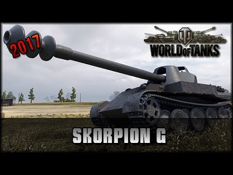 World of Tanks - Live: Skorpion G - Premium - 2017 [ deutsch 🐄 gameplay ]