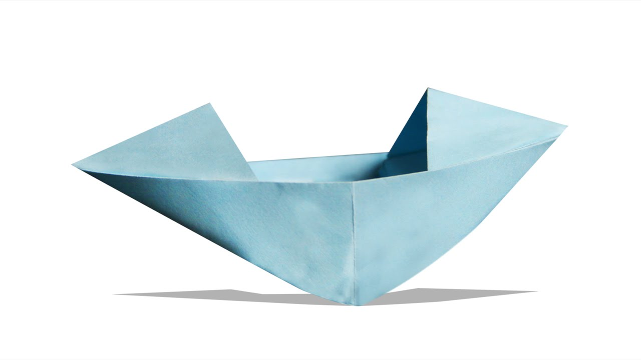 3d origami boat diy learn origami how to make a