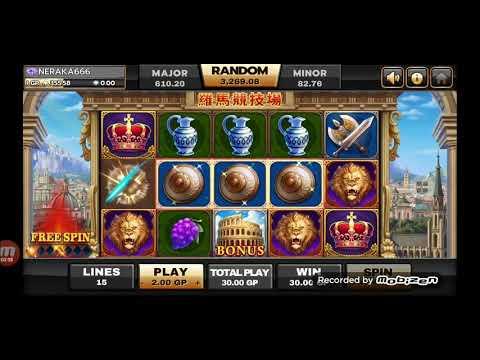 Slot Roma Bonus Win Joker Roma Slotwinbonus Youtube