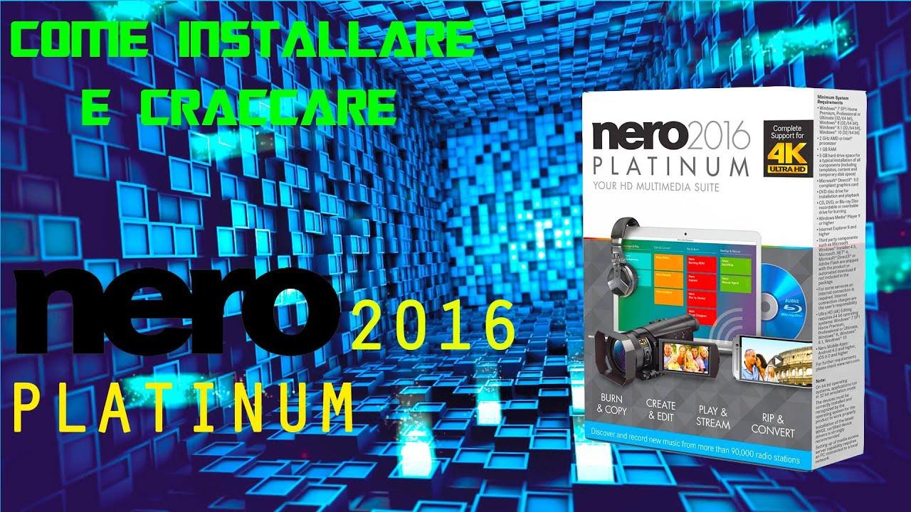 nero 2017 platinum crack ita