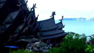 Храм Истины Паттайя(Храм Истины в Паттайе — деревянный храм, строящийся без единого гвоздя. http://tutmneteplo.ru/travel-directory/hram-istiny/, 2016-09-20T18:22:18.000Z)