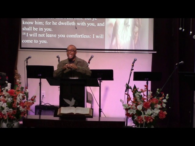 (1-22-16) The Blessing Of The Convicting Work Of The Holy Spirit - John 16:7-11